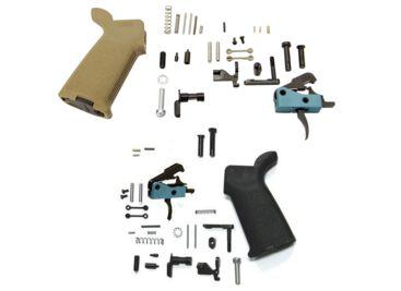 black rain ordnance ar15 lower parts kit with drop in trigger bro