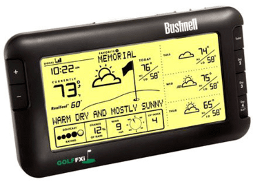 Bushnell 7-Day Golf Weather Fxi Wireless Forecaster 960071C