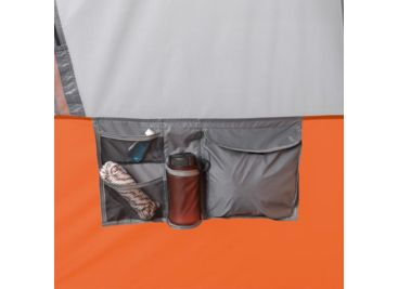 Core Equipment 10 Person Straight Wall Cabin Tent 40034 On