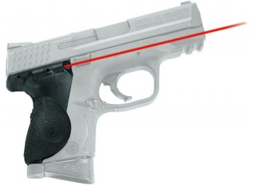 Crimson Trace Lasergrip, Black - M&P S&W Compact - LG-661