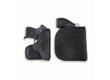 DeSantis Ambidexterous Black Super Fly Holster M44BJN3Z0 - RUGER LCR 1  7/8in , SP101 2in