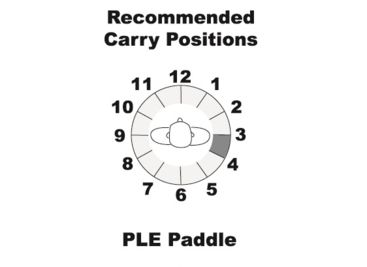 Galco PLE Unlined Paddle Holster for Walther PPK